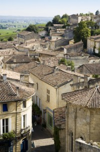 View over Saint Emilion, Gironde, France