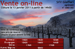Vente on-line sur iDealwine
