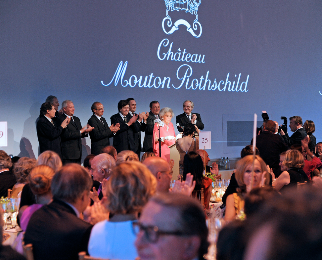 soiree mouton rothschild