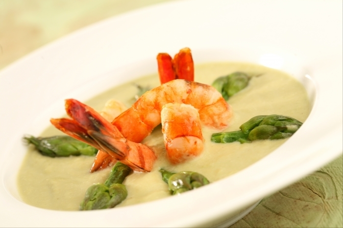 recette-veloute-asperges-gambas