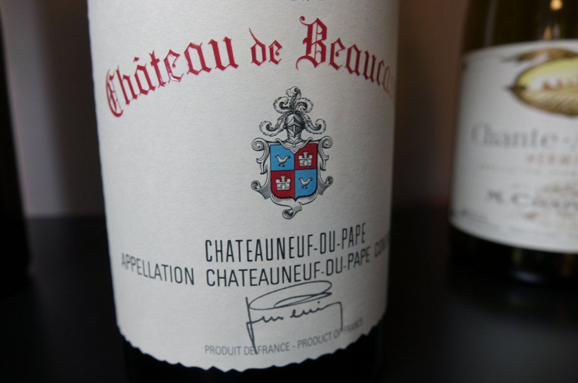 aoc chateauneuf anniversaire