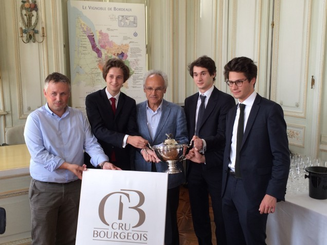 Coupe crus bourgeois 2016 chateau Belle Vue