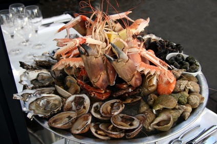 accords mets et vins Fruits de mer