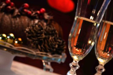 Accords mets vins bûche Noel