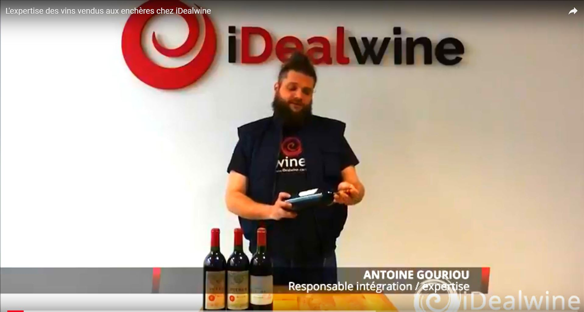 Expertise vins encheres iDealwine