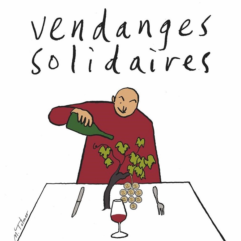1- Vendanges solidaires