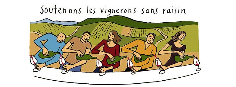 2- Vendanges solidaires