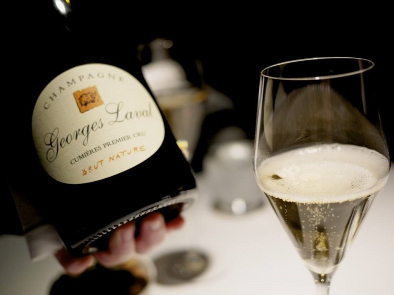 Brut nature champagne Georges Laval vin idealwine