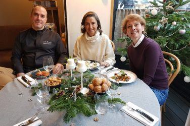 Angelique de Lencquesaing Benoit et Catherine Bordier accords mets et vins iDealwine Restaurant Le Saint-Joseph