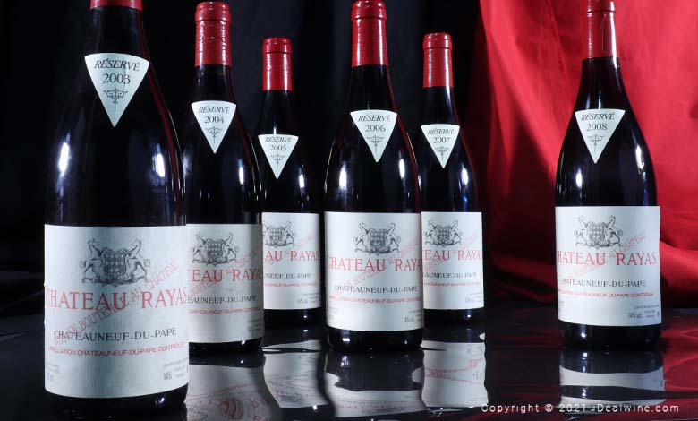 Chateau Rayas iDealwine vin encheres